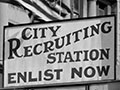 Auckland recruiting station, 1917