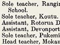Education roll of honour