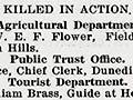 Rolls of honour in the <em>Public Service Journal</em>