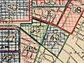 Christchurch recruiting map, 1916