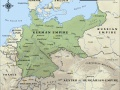 Map of the German Empire in 1914