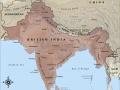 Map of British India in 1914