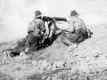 New Zealand machine gunners in action