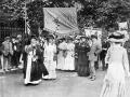 Suffrage procession in London