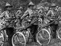 Anzac cyclists