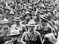 NZ (Māori) Pioneer Battalion returns from war