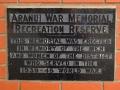 Aranui War Memorial Recreation Reserve