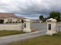 Arapohue Hall memorial gate