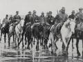 Patrolling Auckland wharves, 1913 strike