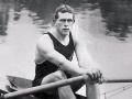 Champion rower Dick Arnst wins race on Zambezi River