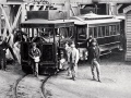 Wellington steam-tram service opened
