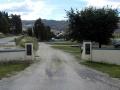 Bannockburn Domain memorial gates