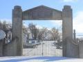 Blackstone Cemetery War Memorial Gates