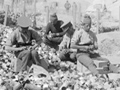 Improvised bomb factory at Gallipoli