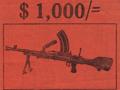 Bren gun reward leaflet