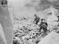 Soldiers on Cassino battlefront