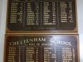 Cheltenham School roll of honour