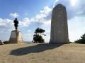 Memorials on Chunuk Bair panorama, Gallipoli