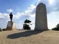 Memorials on Chunuk Bair panorama, Gallipoli