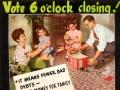 'Six o'clock swill' begins