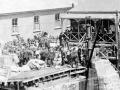 Strikers at Denniston during 1913 strike