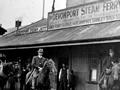 Devonport Ferry terminal during 1913 strike
