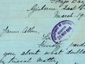 Dora Spencer letter, 1916