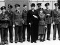 Sir Hugh Dowding with Battle of Britain pilots