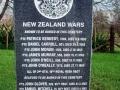 Drury NZ Wars soldiers memorial