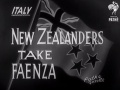 New Zealanders take Faenza, 1945