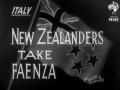 New Zealanders take Faenza, 1945