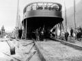 SS <em>Earnslaw</em> launched on Lake Wakatipu