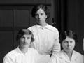 Female telephone exchange operators