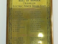 Franklin Electric Power Board Roll of Honour