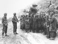 German prisoners of war at Cassino