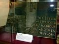 HMS <em>Orpheus</em> memorial plaque