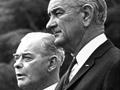 Keith Holyoake and Lyndon B. Johnson