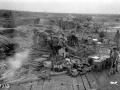 Bombarding the German lines, April 1918