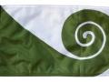 Hundertwasser koru flag