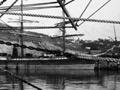 Ships at Sumpter Wharf, Oamaru, 1880s