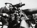 A Royal Navy gunner, 1940