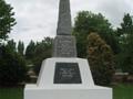 Buckland First World War memorial