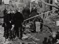 After a German air raid on London, 1940
