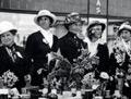 Women fundraising for Belgium, First World War