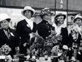 Women fundraising for Belgium, First World War