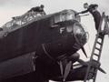 Lancaster bomber between sorties