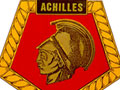 HMS <em>Achilles</em> badge
