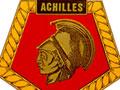 HMS <em>Achilles</em> badge