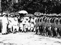 James Allen addresses Rarotongan returned soldiers