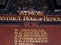 Athol war memorial hall and roll